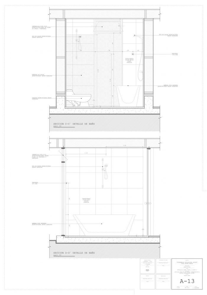 Proyecto Básico Casa Ecologica 16